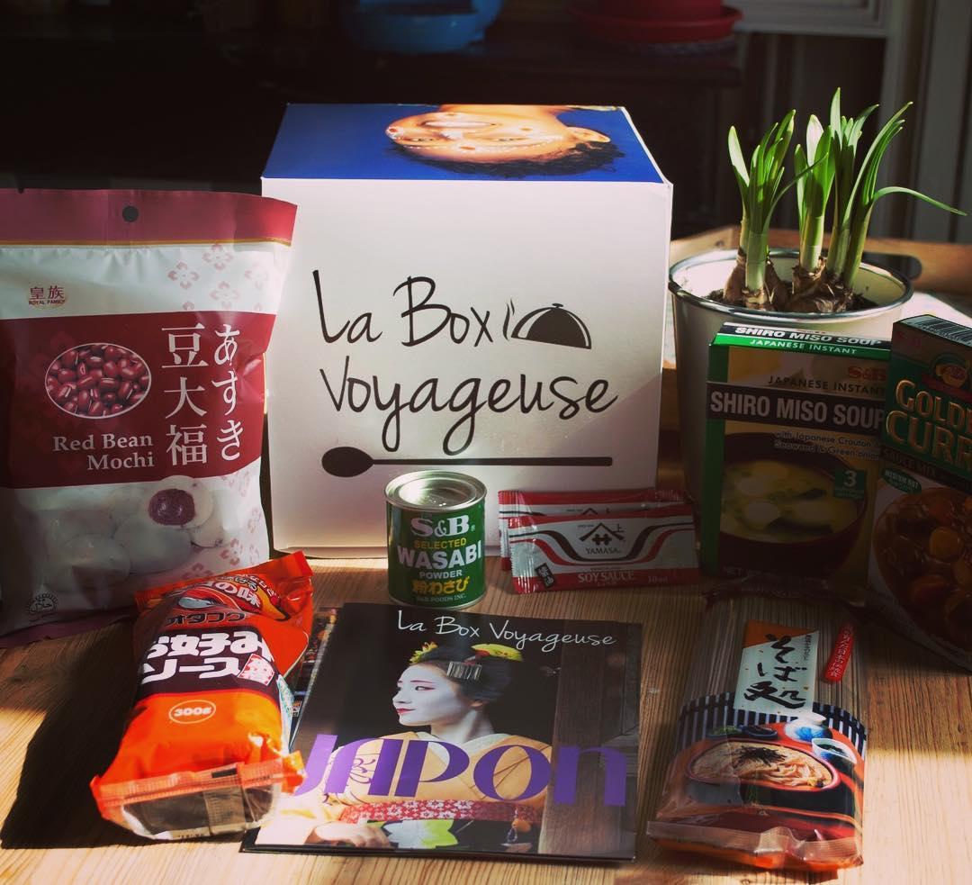 la box voyageuse japon