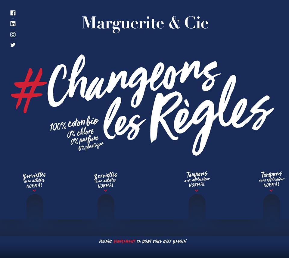 Marguerite & cie charte changeons les règles