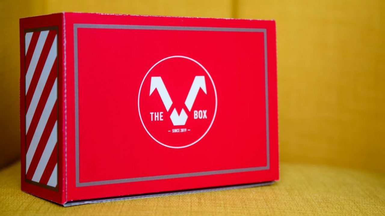 the V box coffret