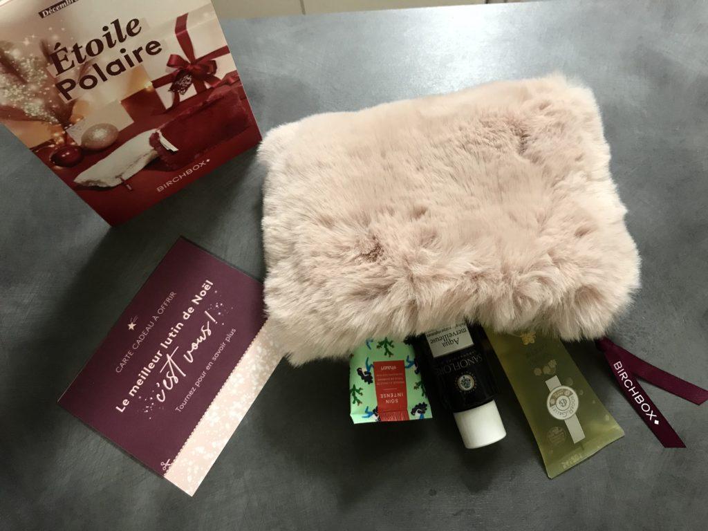 birchbox decembre 2019 etoile polaire birchbox