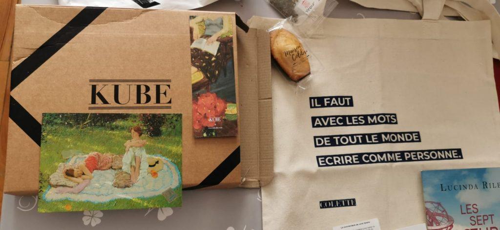 Kube box Le Cri Nicolas Beuglet
