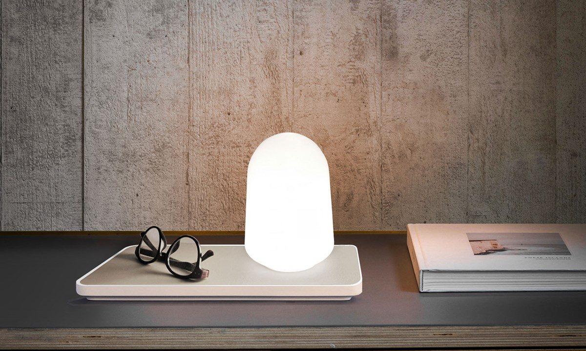 designer box lampe