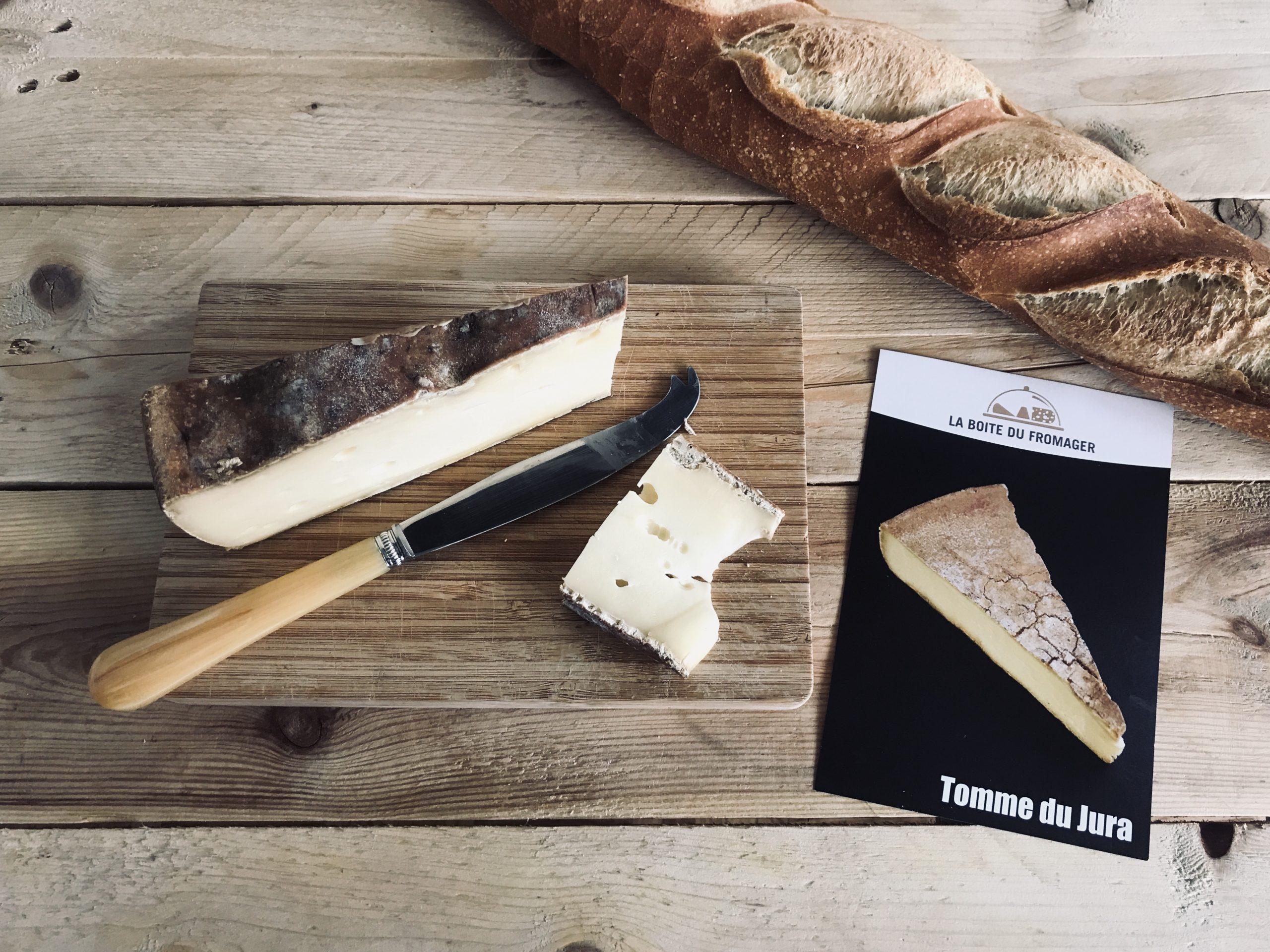 Tomme du Jura fromage