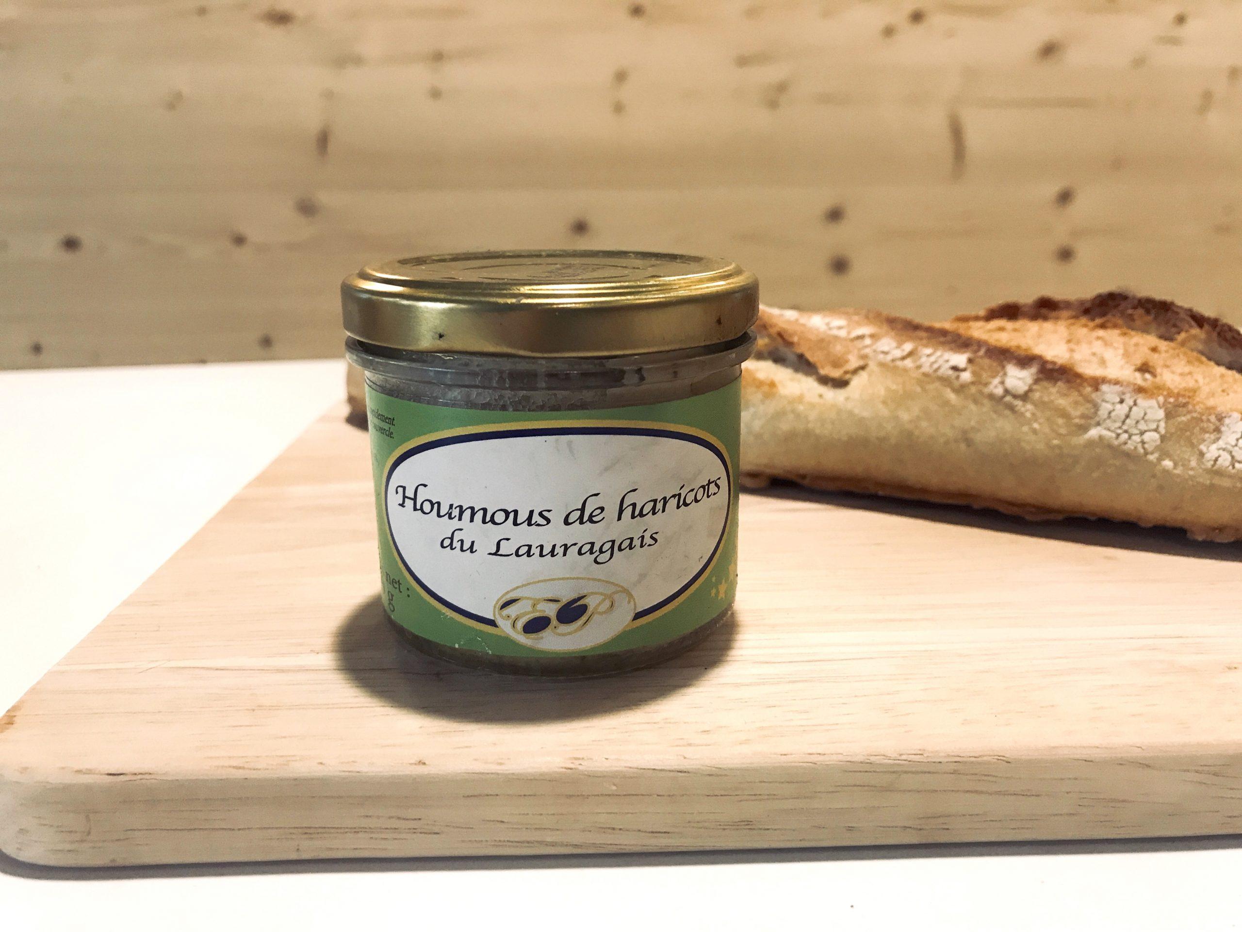 Houmous original de haricot blanc « Lingot » du Lauragais