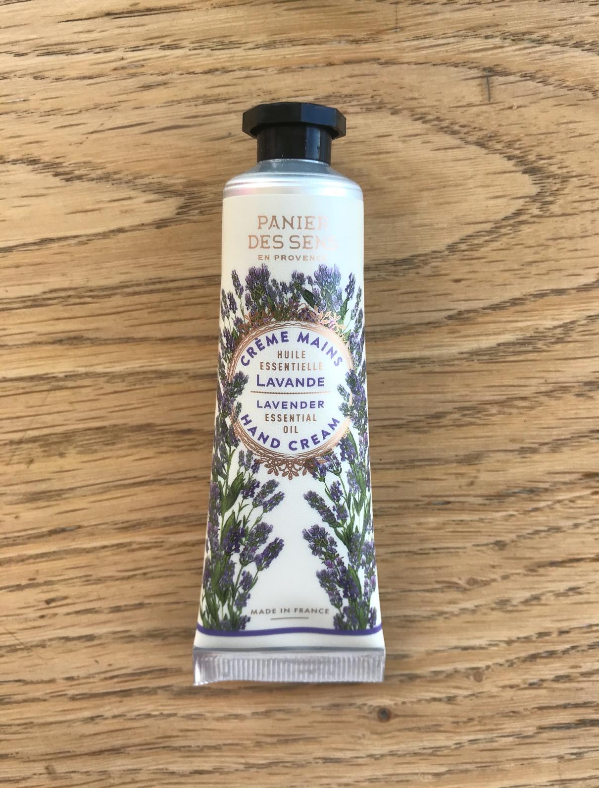 Crème pour les mains à la lavande relaxante – Panier des sens