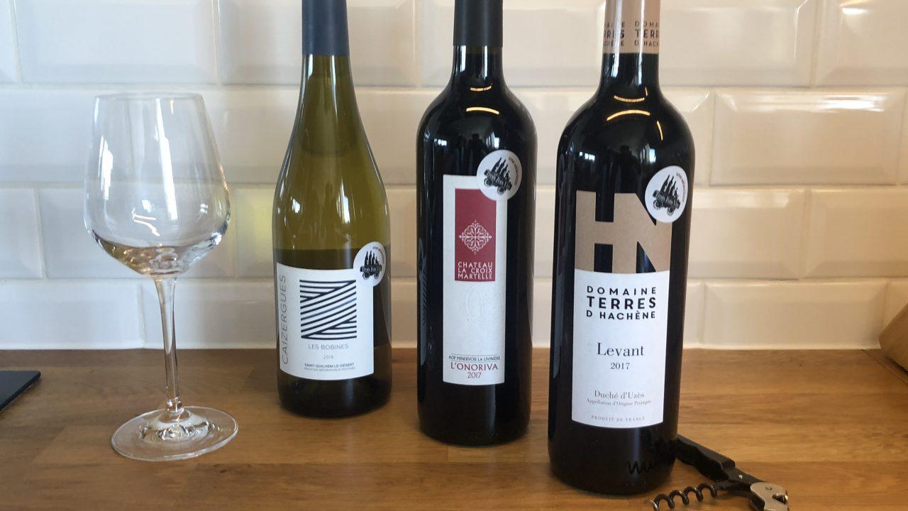 trois fois vin test box