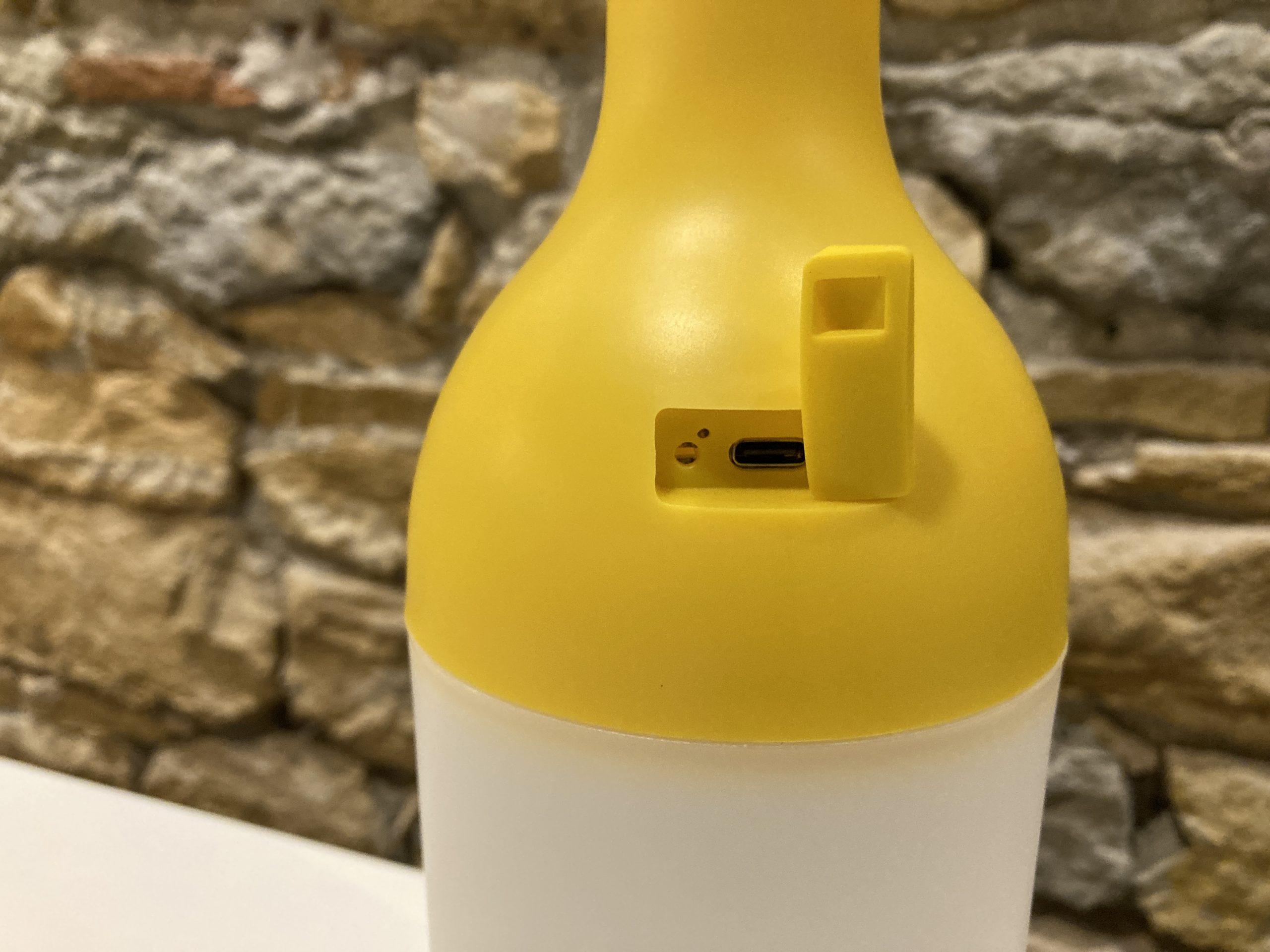 designerbox lampe nomade ELO