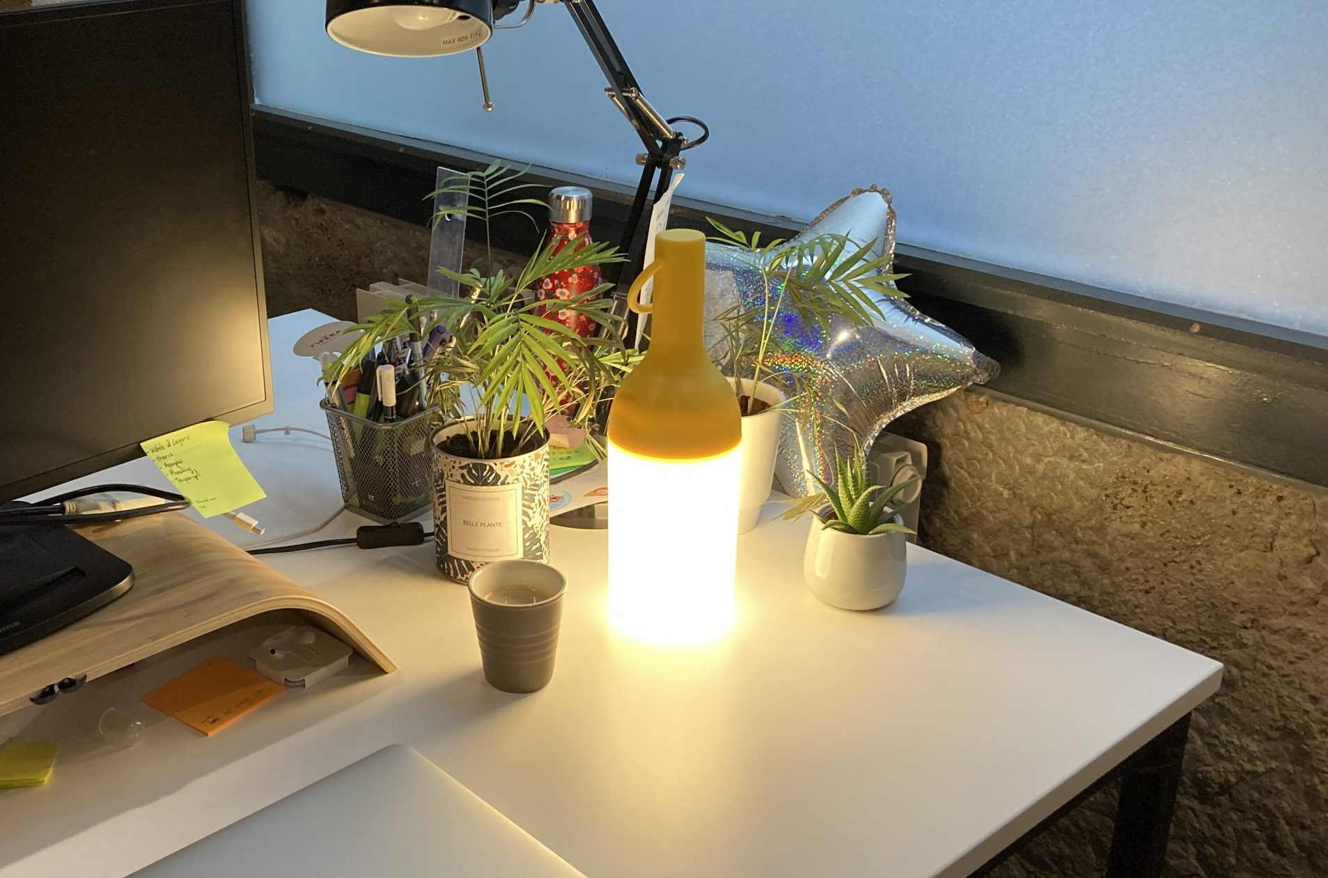 designerbox lampe nomade ELO test