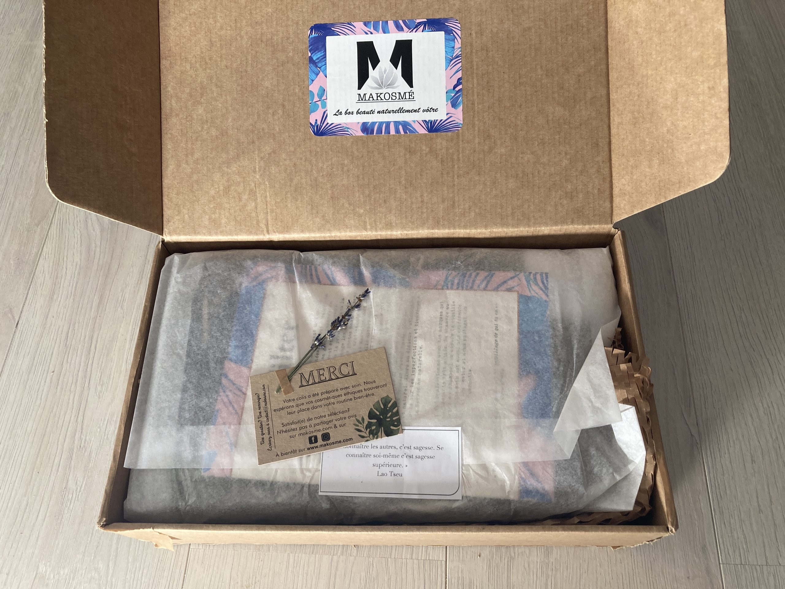 Makosmé box nofilter