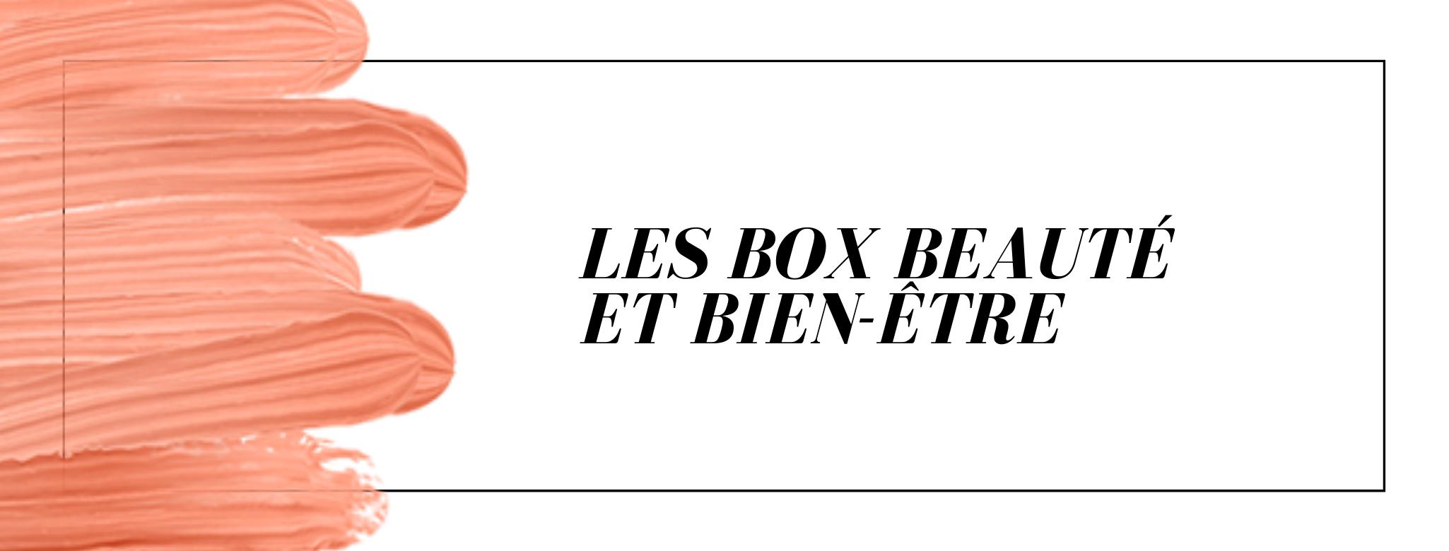 box beauté et bien être