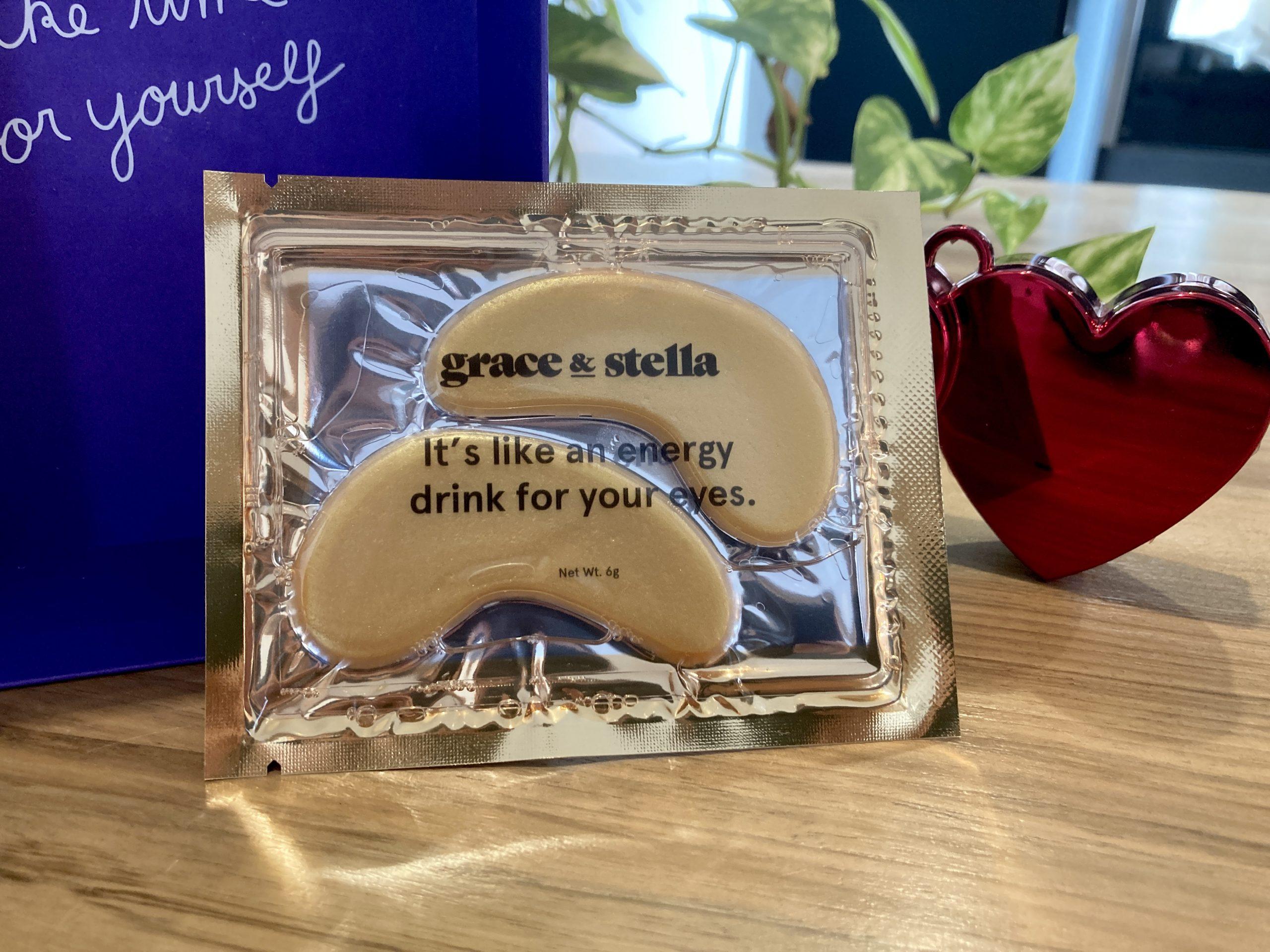 Patchs énergisants pour les yeux - Grace and Stella