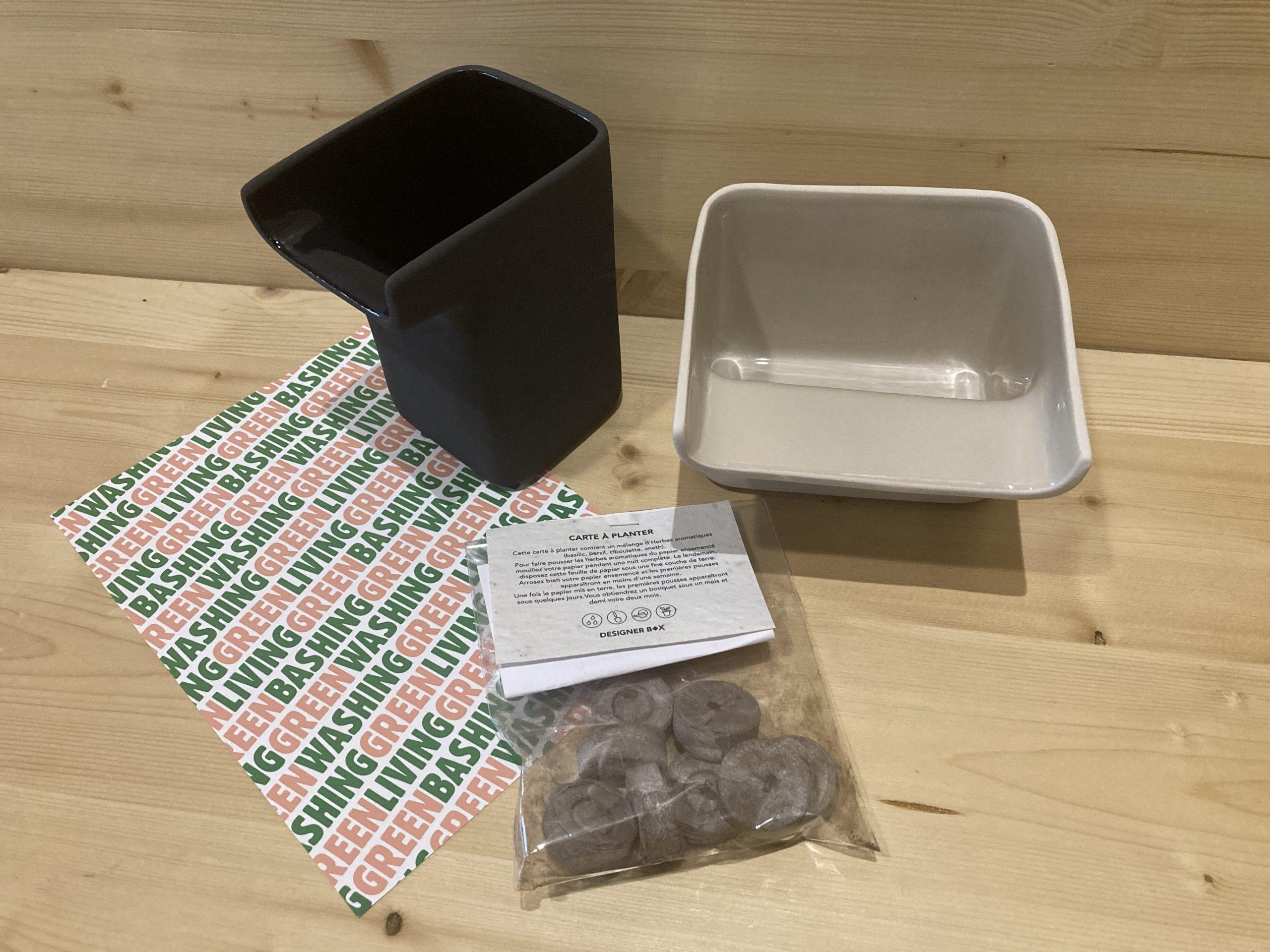 box plus de vert designer box
