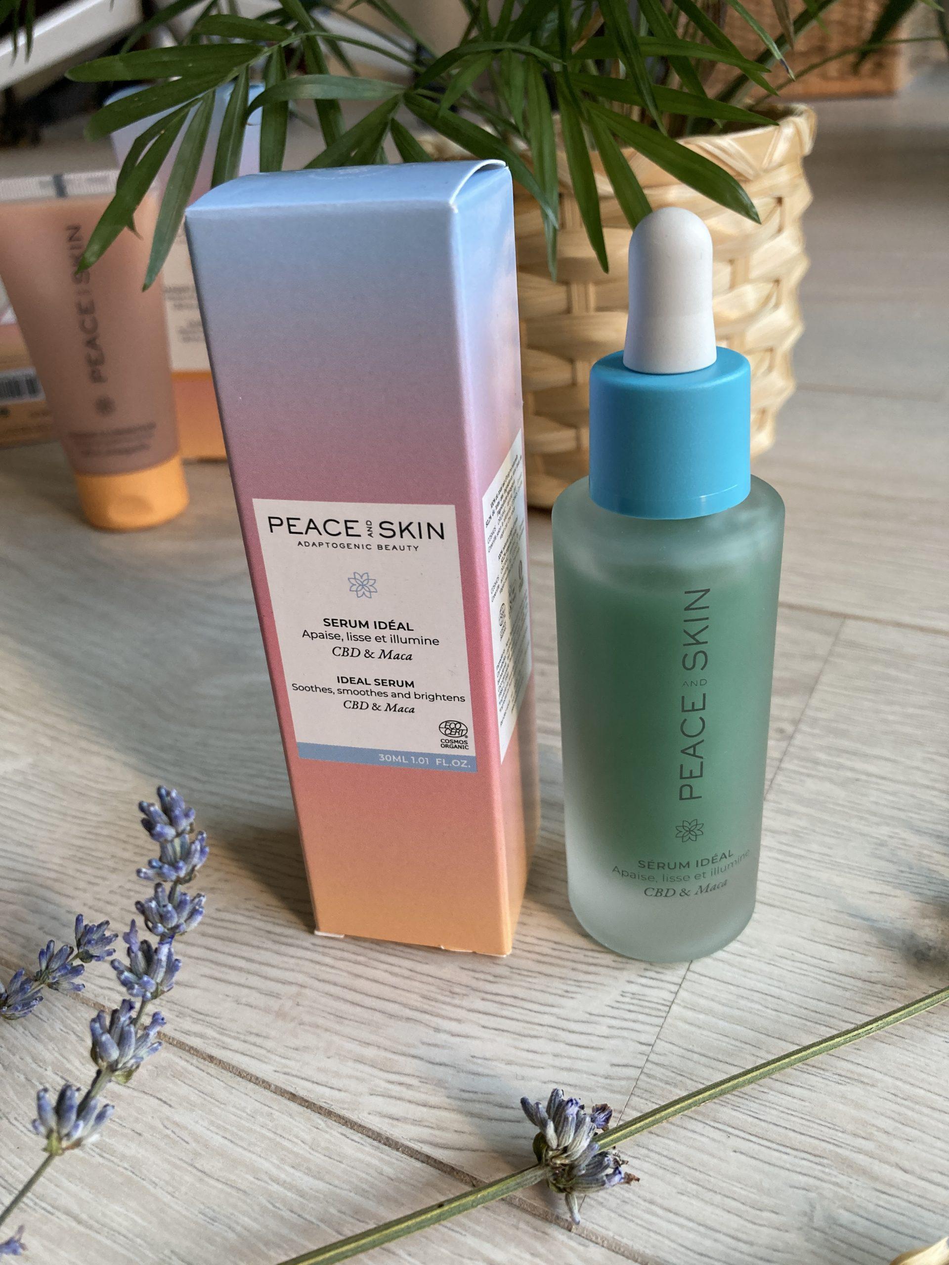 test Sérum Idéal Peace and Skin