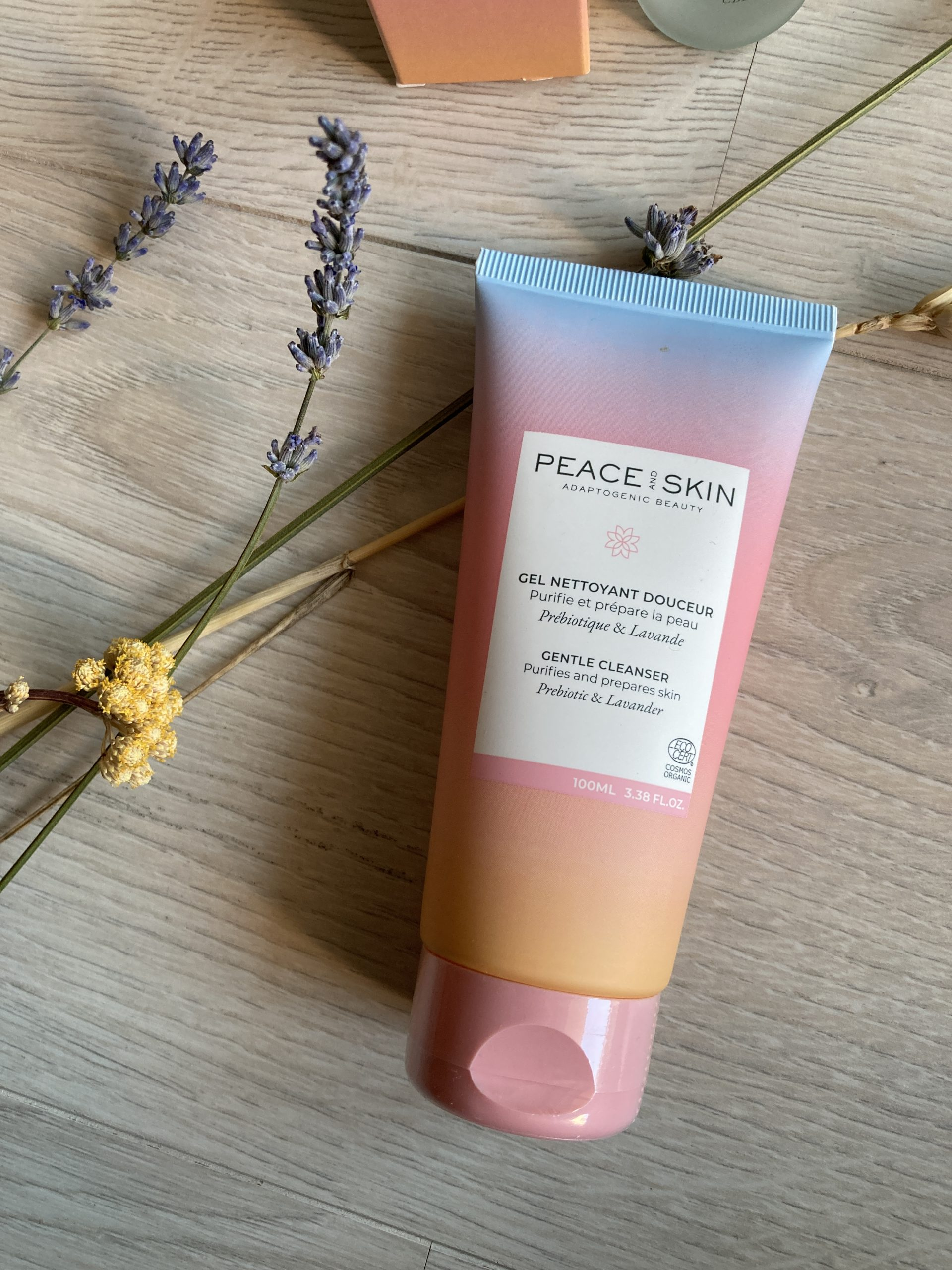 test Gel Nettoyant Douceur Peace and Skin
